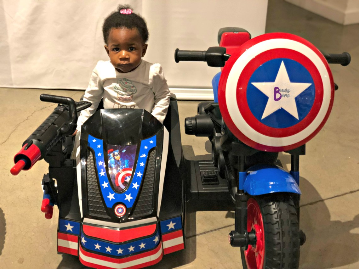 TTPM 2018 Spring Showcase Captain America Side Car Ride-on