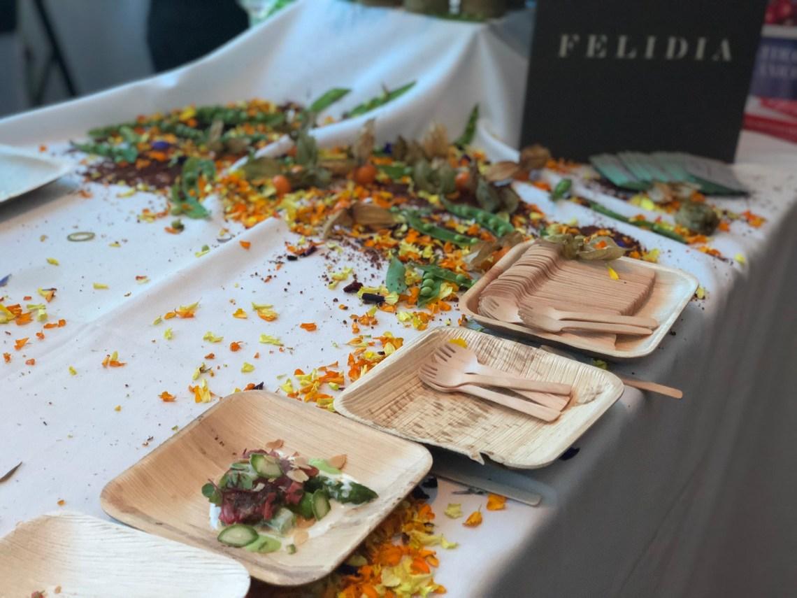 FELIDIA Seared Tuna with Green Almonds