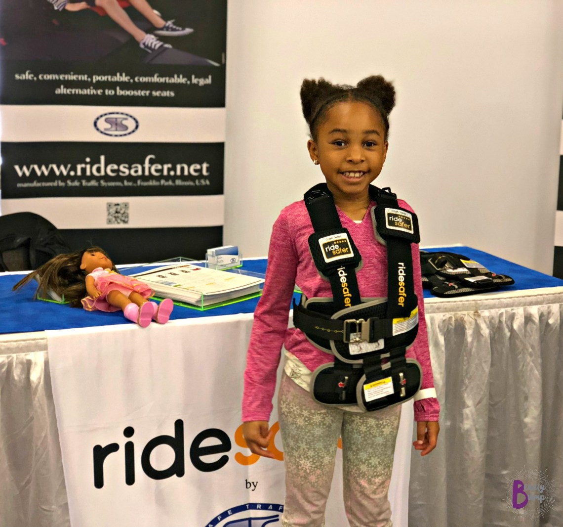 2018 New York Baby Show Ride Safer Travel Vest #NYBSBloggerLounge