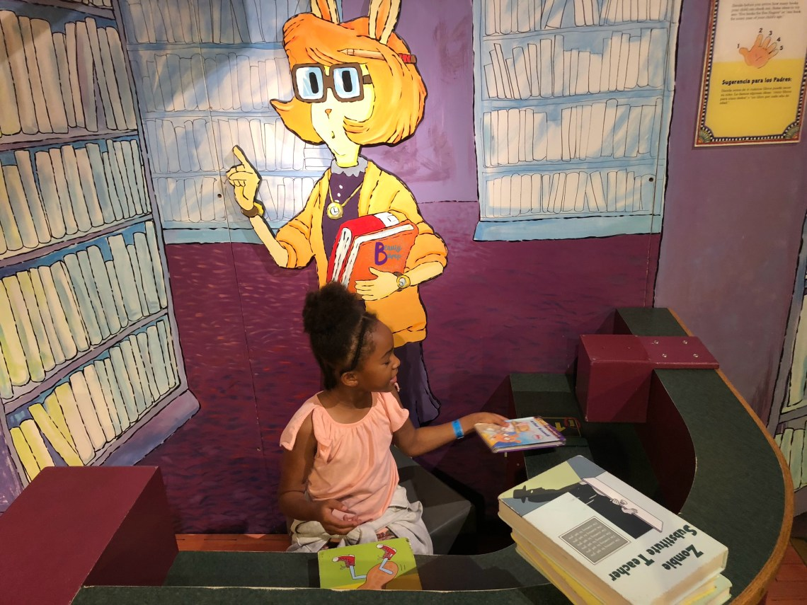 Arthur's World Library at Liberty Science Center