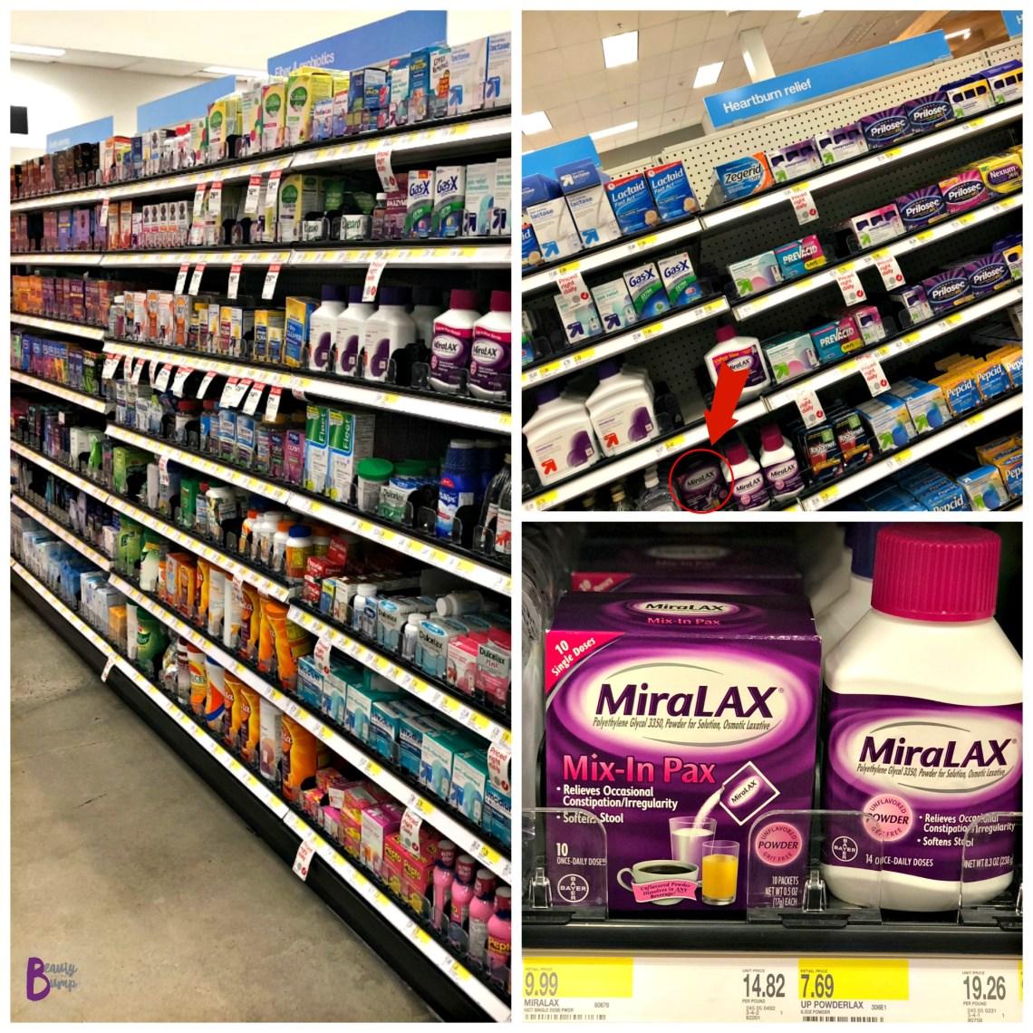 MiraLAX Mix-in-Pax Target
