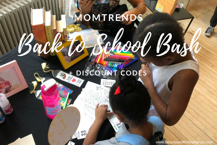 Momtrends Back to School Bash + Discount Codes