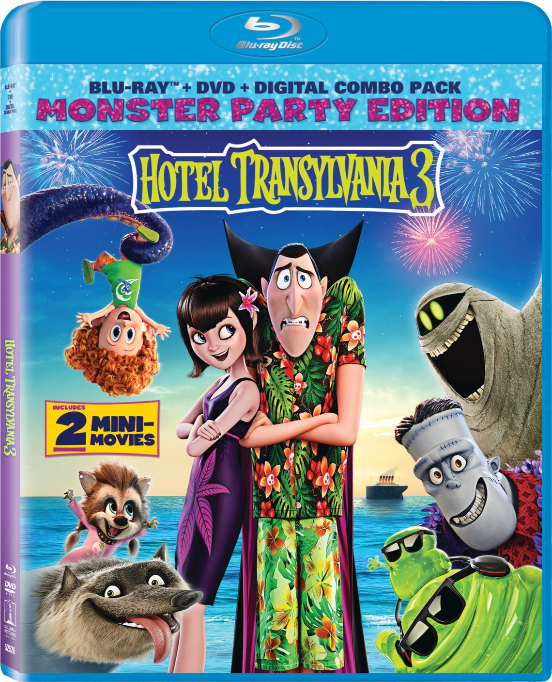 Hotel Transylvania 3 Bluray