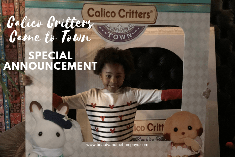Calico Critters Meet Stella Event