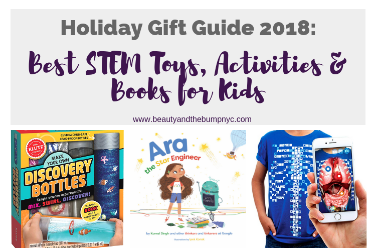 Holiday Gift Guide 2018: Best STEM Toys, Activities & Books for Kids