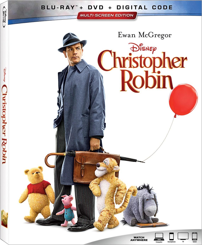 Disney's Christopher Robin on DVD November 6, 2018