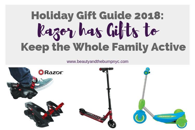 Holiday Gift Guide 2018: Razor Has Gifts to Keep the Whole Family Active