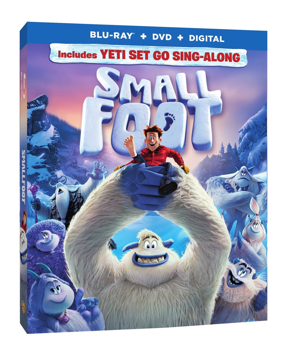 Enjoy Yetiville Right at Home - Smallfoot is on Blu-Ray & Digital