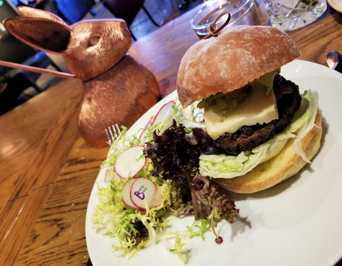 The CL Wagyu Burger
