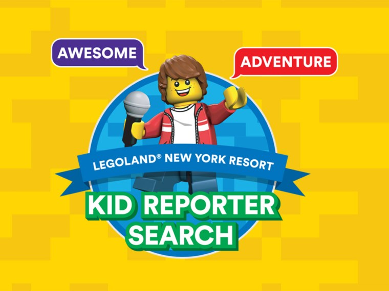 LEGOLAND New York Kid Reporter Search