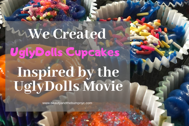 We Created UglyDolls Cupcakes Inspired by the UglyDolls Movie