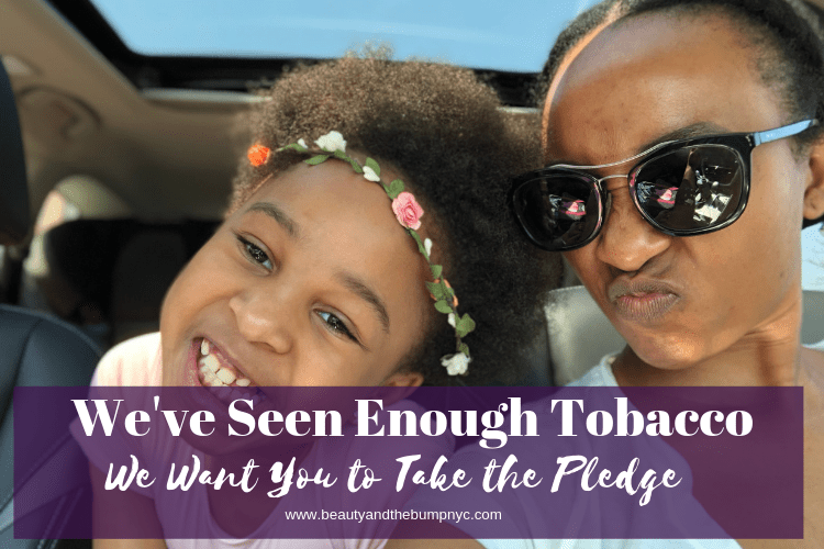 We've Seen Enough Tobacco & Want You to Take the Pledge