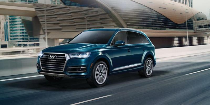 The Audi Q7 s a roomy mid-sized SUV that is great for families due to its superior combination of cargo and passenger space, safety and reliability ratings.