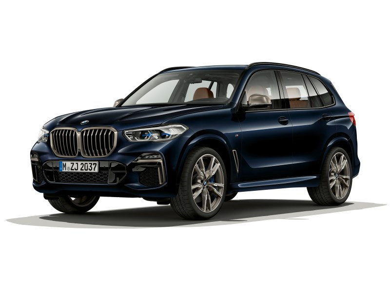 The BMW X7 has all of the bells and whistles you would expect in a BMW like intuitive safety options.