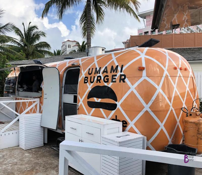 Umami Burger Food Truck at Baha Mar