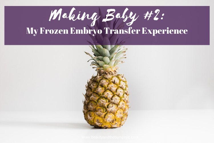 Frozen Embryo Transfers although they can be stressful for various reasons. I'm sharing my experience on my transfer day.