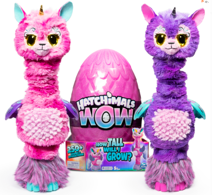 "Hatchimals Collectibles Llalacorn 32"" surprise toy"