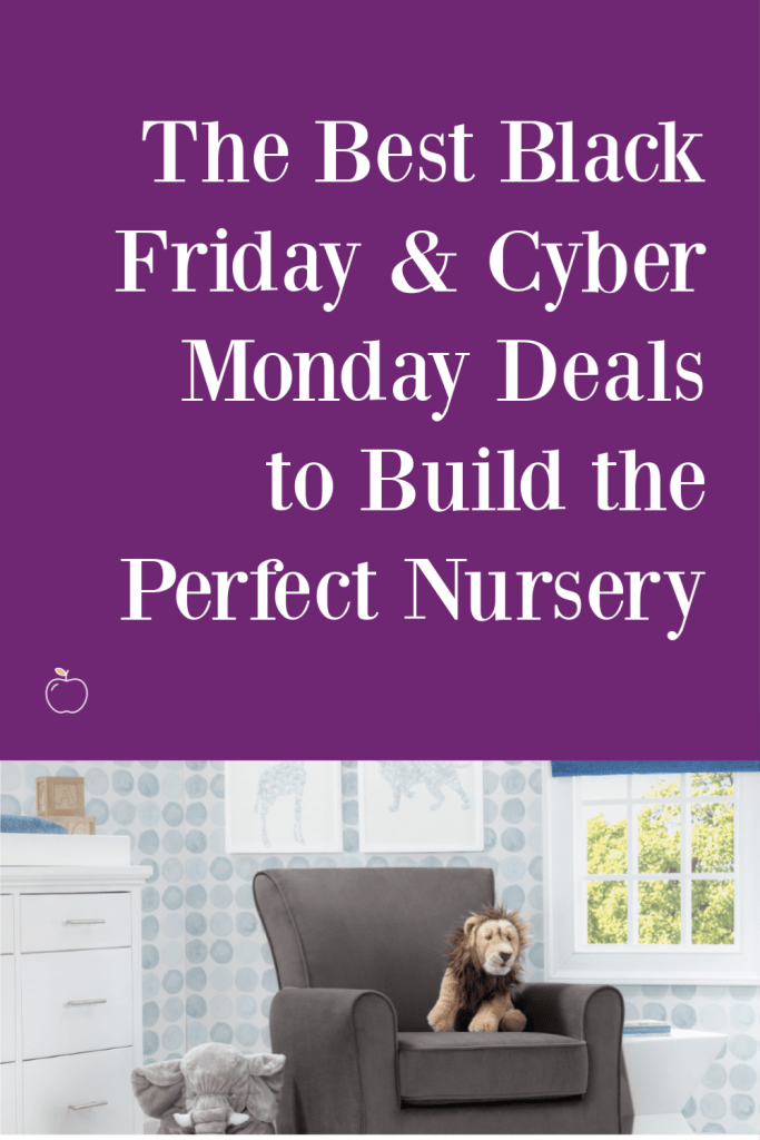 Black Friday and Cyber Monday are some of the best times to get great deals on much-needed products. I'm sharing The Best Black Friday and Cyber Monday to Help You Build the Perfect Nursery deals on things such as cribs, dressers, mattresses and more!