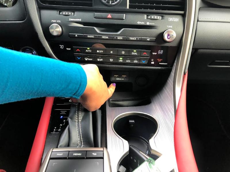 The Lexus RX 450h has 6 USB ports