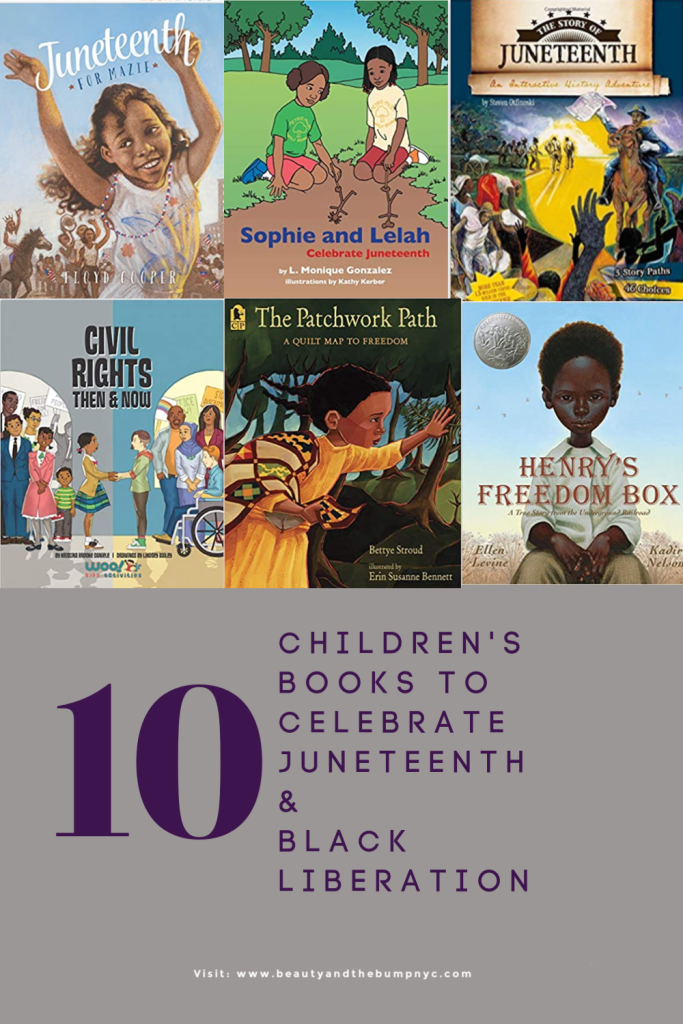 On June 19, 1865 – only 155 years ago - slaves had been freed. Here's a list of children's books to help teach kids about Juneteenth and black liberation.