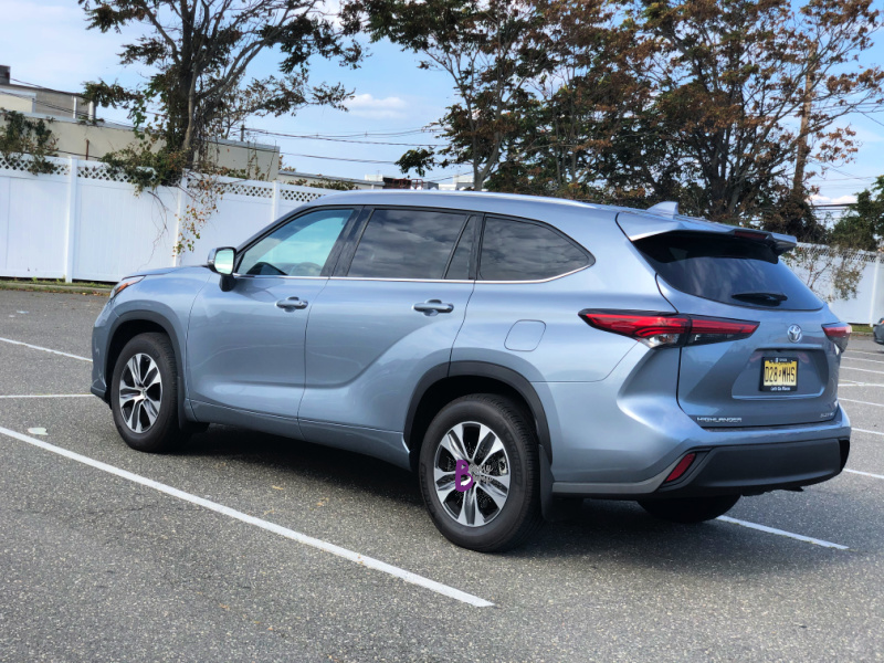 The 2020 Toyota Highlander XLE AWD is the Best SUV for Families needing more space and love the convenience of having a 3rd row.