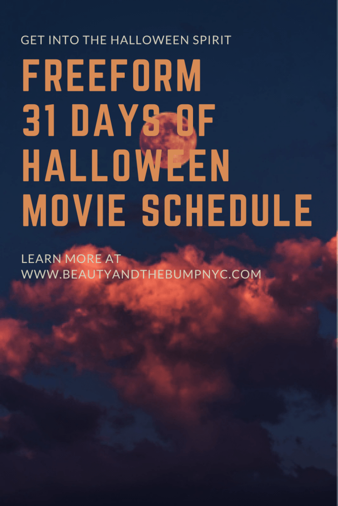 This year, everyone needs something fun to look forward to. Check out the full schedule of Freeform's 31 Nights of Halloween movies. #freeformhalloweenroad