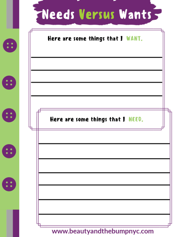 Teaching kids about money should be something parents do early. Use this Kids Savings Planner to help.