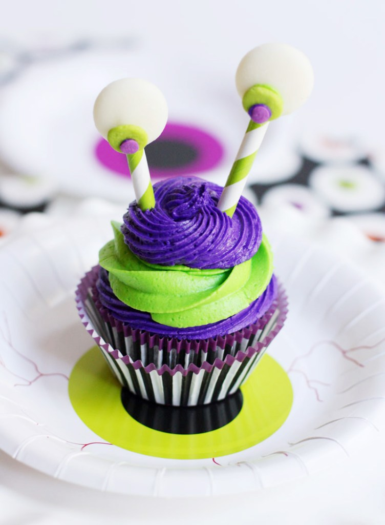 Monster Cupcakes Halloween Cupcake Ideas