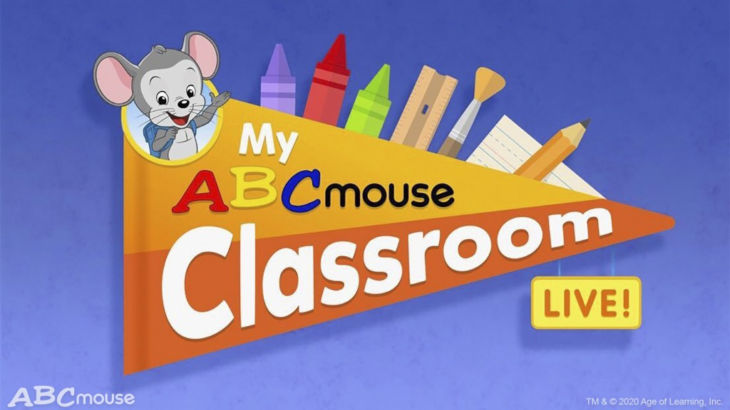 ABCmouse is the top online learning program for kids ages 2-8 and includes over 10,000 expert-designed games, puzzles, books, videos, and other learning activities across literacy, math, science, social studies, art, and music. An ABC Mouse subscription also includes access to My ABCmouse Classroom Live!, a first-of-its-kind learning experience delivering daily classes with on-demand instruction led by real teachers and independent learning activities for pre-k and kindergarten students.