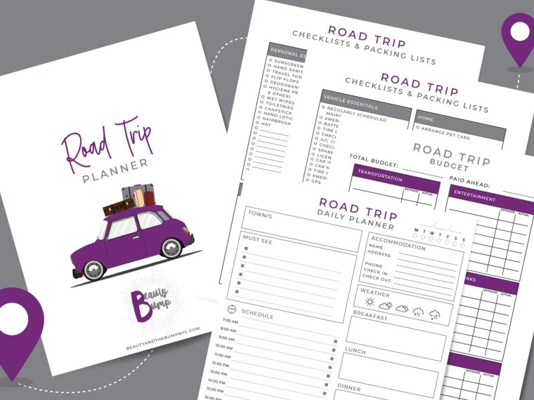 A road trip can have its issues. This is why you should always be prepared with your own road trip planner.