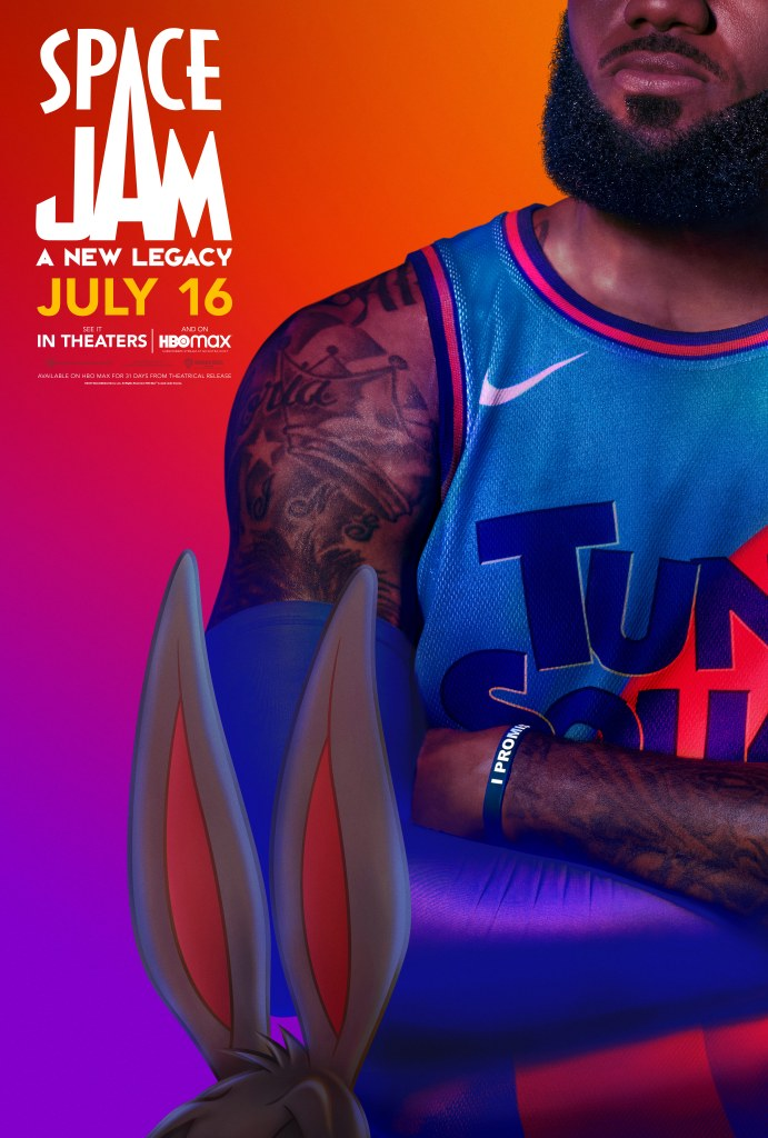 Watch LeBron James & Bugs Bunny in SPACE JAM: A NEW LEGACY. In theaters & streaming on HBO Max* – July 16. #SpaceJamMovie