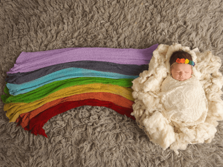 Pregnancy itself can be stressful. It's even more so when you are expecting a rainbow baby. Here's what you should know.