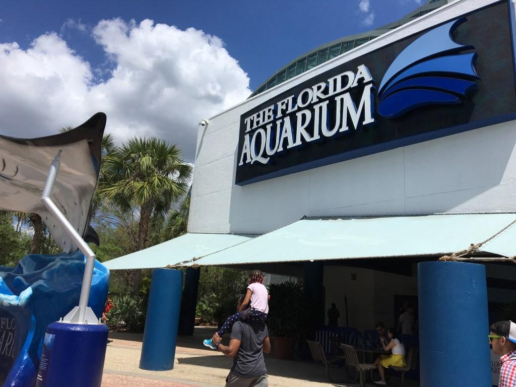 Florida Aquarium in Tampa, Fl