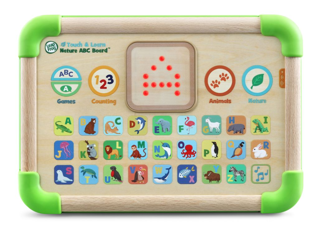 Touch & Learn Nature ABC Board by LeapFrog