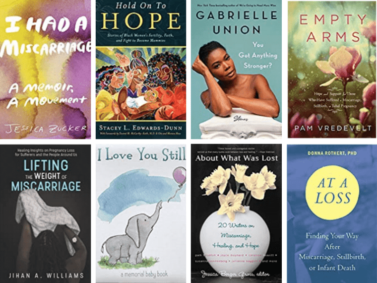October is Pregnancy and Infant Loss Awareness Month. I'm sharing Books to Help You Grieve Through Pregnancy, miscarriage, and Infant Loss.