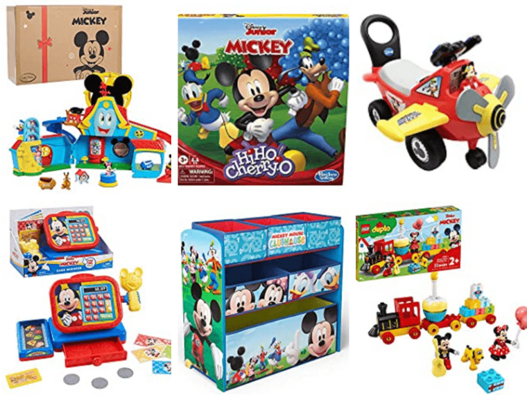 These educational and engaging Mickey Mouse Clubhouse toys all bringing the Mickey Mouse Clubhouse experience right into your own home.