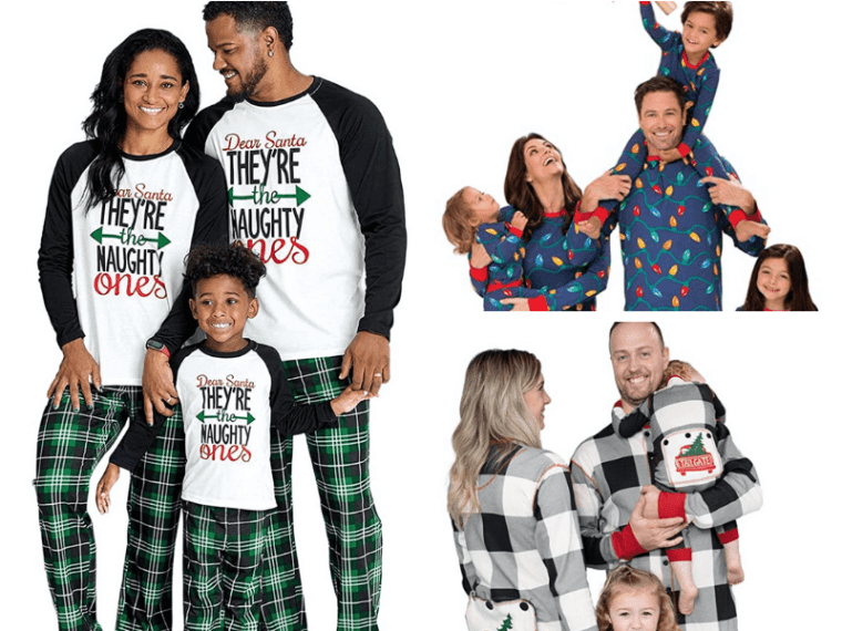 You can get cozy and browse from this list of cozy and adorable matching holiday pajamas that will ship right to your door.