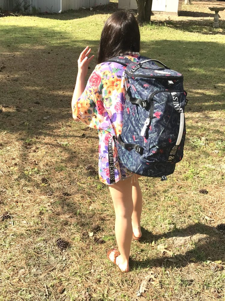 My favorite travel backpack! use code BBTRAVEL20 for 20% off - I literally take this backpack every time I travel - Beauty and the Bustle #travel #fashion