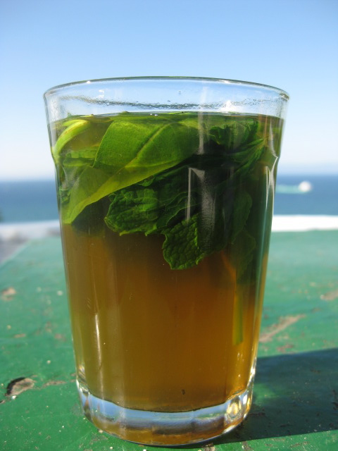 Image result for Mint Tea food in morocco