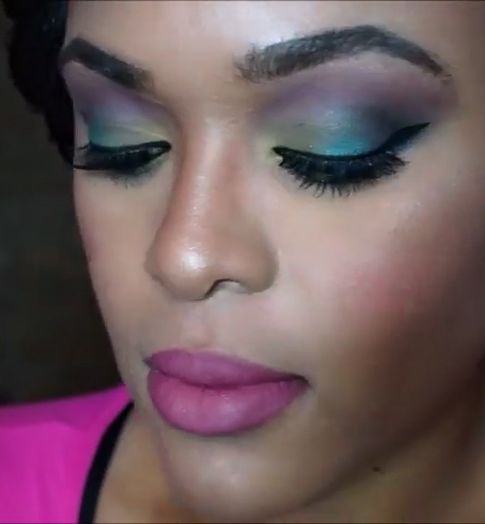 GRWM: Summertime Makeup/Peacock Inspired