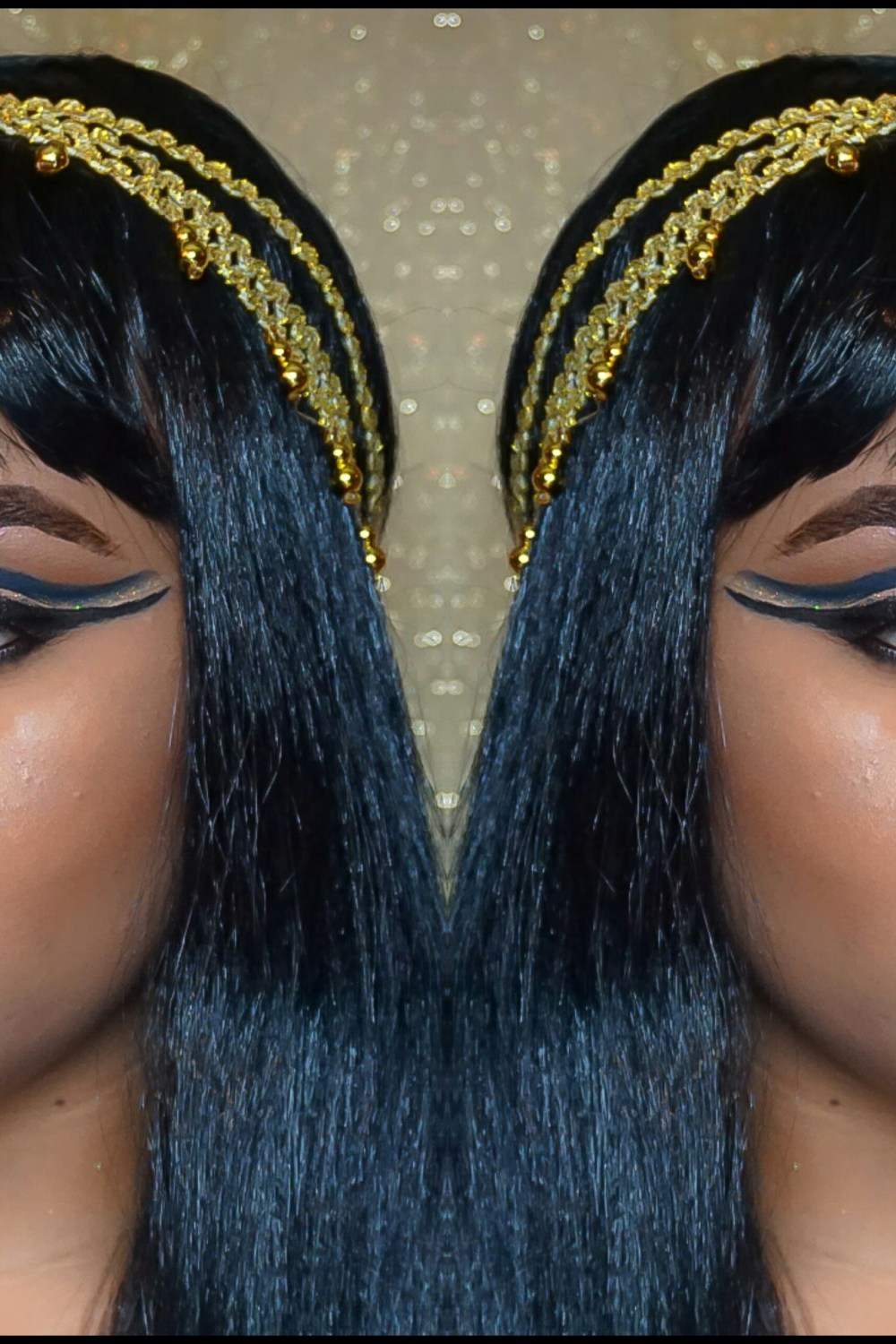 Halloween: Egyptian Goddess Makeup