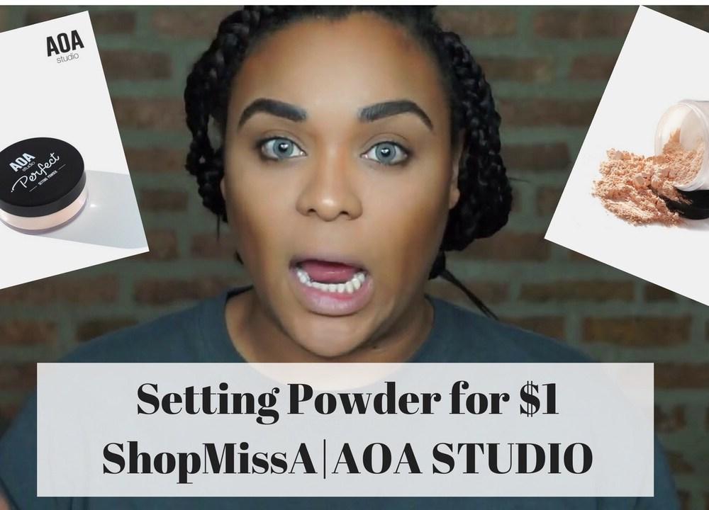 Shop MissA Setting Powders | AOA Studio