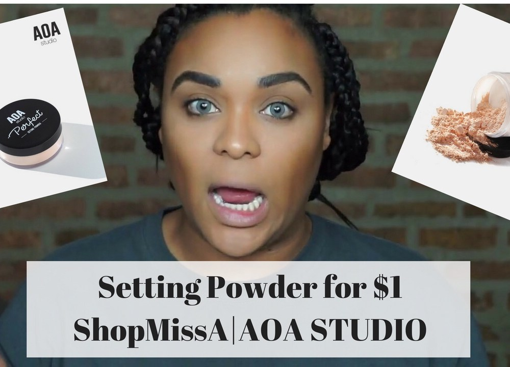 Shop MissA Setting Powders | AOA Studio