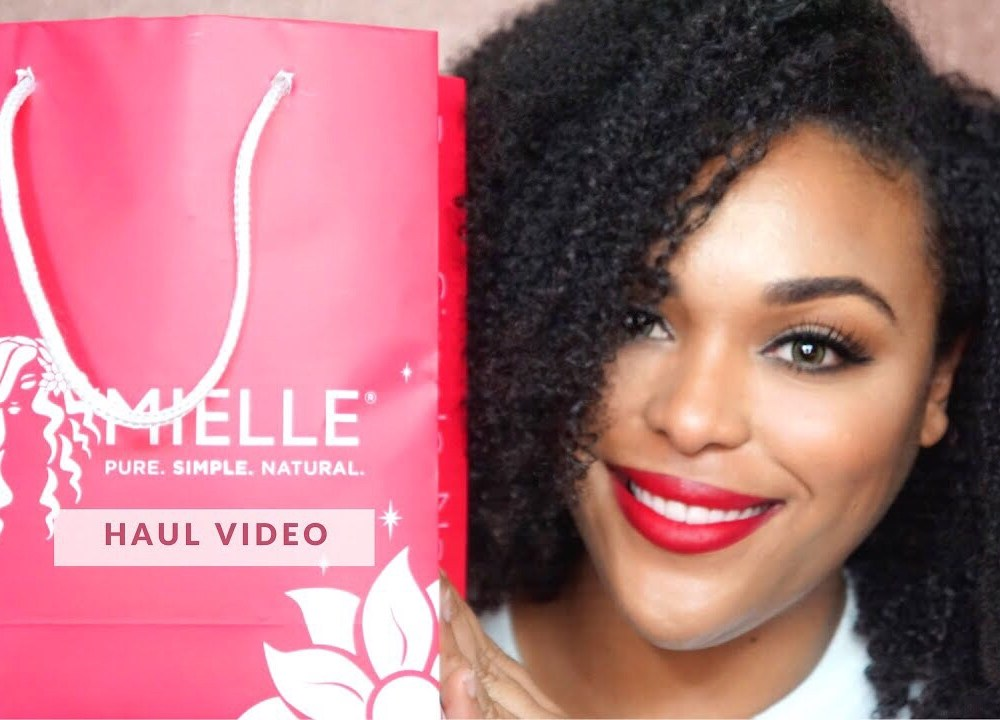 Haul Video|Mielle Organics Haul from the Black Women's Expo