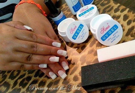 Trying UV Gel Nail Art Professional Kit from BornPrettyStore