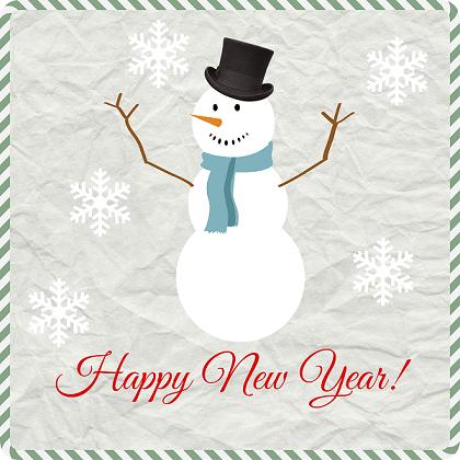 snowman-happy-new-year