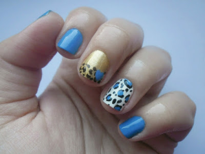 Diy Easy Mix Match Nail Design By Eleftheria Beauty And The Mist