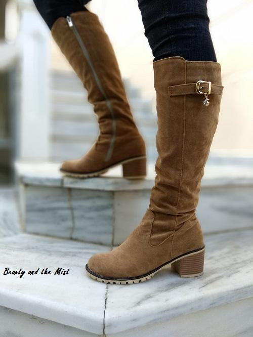 camel-boots