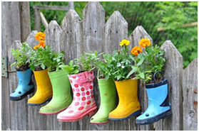 flowers-rainboots