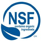NSF Contains Organic Ingredients